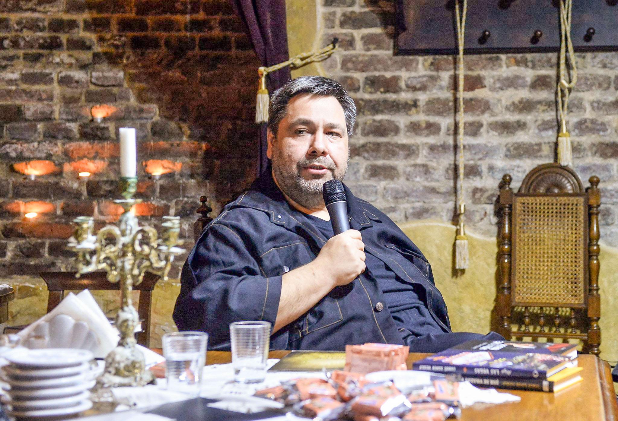 LXV v Brně - Talk show ve STERN restaurantu