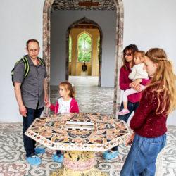 Interiéry osmi místností prvního patra minaretu prošly náročnou rekonstrukcí